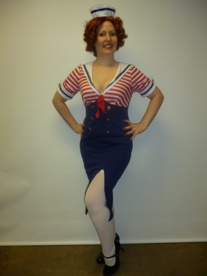 pin up girl costume