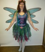 Fairytale storybook mythical forest fairy