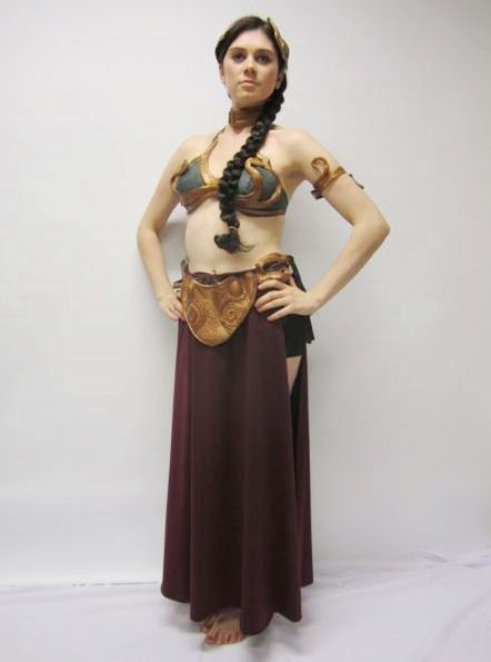 princess leia slave girl star wars creative costumes. Black Bedroom Furniture Sets. Home Design Ideas
