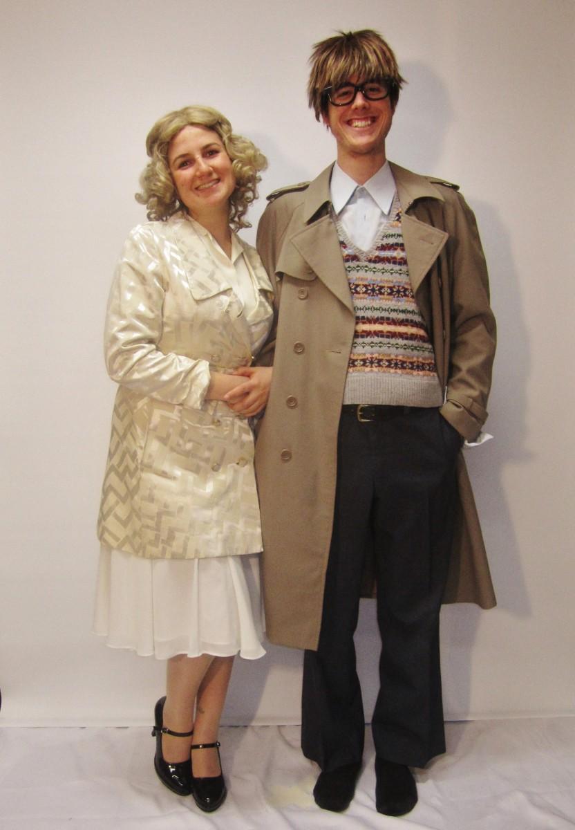 Janet u0026 Brad  sc 1 st  Creative Costumes & Brad u0026 Janet Rocky Horror Picture Show Couple Costume -Creative Costumes