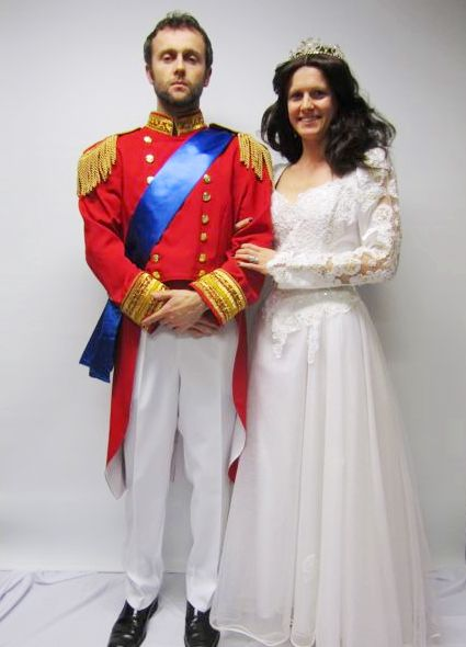 Prince William And Kate Middleton Costume Creative Costumes