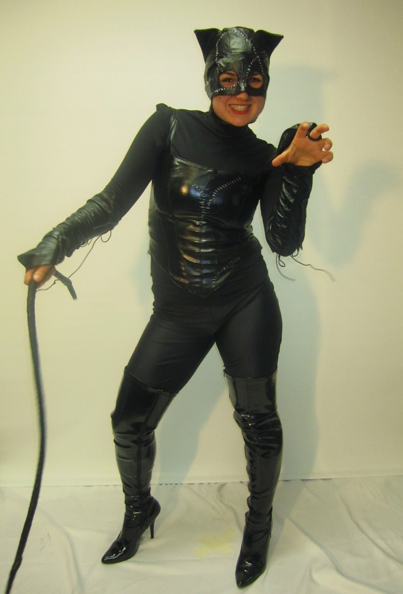 Catwoman Corset & Catwoman costume -Creative Costumes