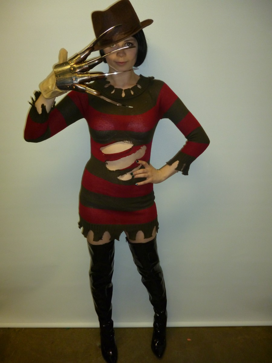 freddy kreuger womens costume -creative costumes
