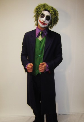 Evil villian from Batman The Dark Knight