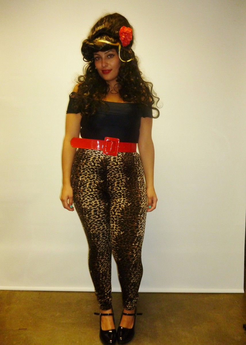 Amy Winehouse Creative Costumes