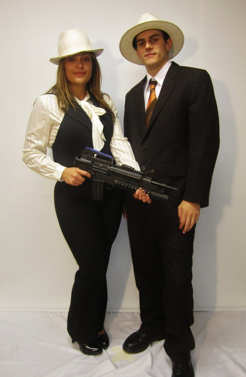 Favoloso Bonnie and Clyde Costume -Creative Costumes CL16