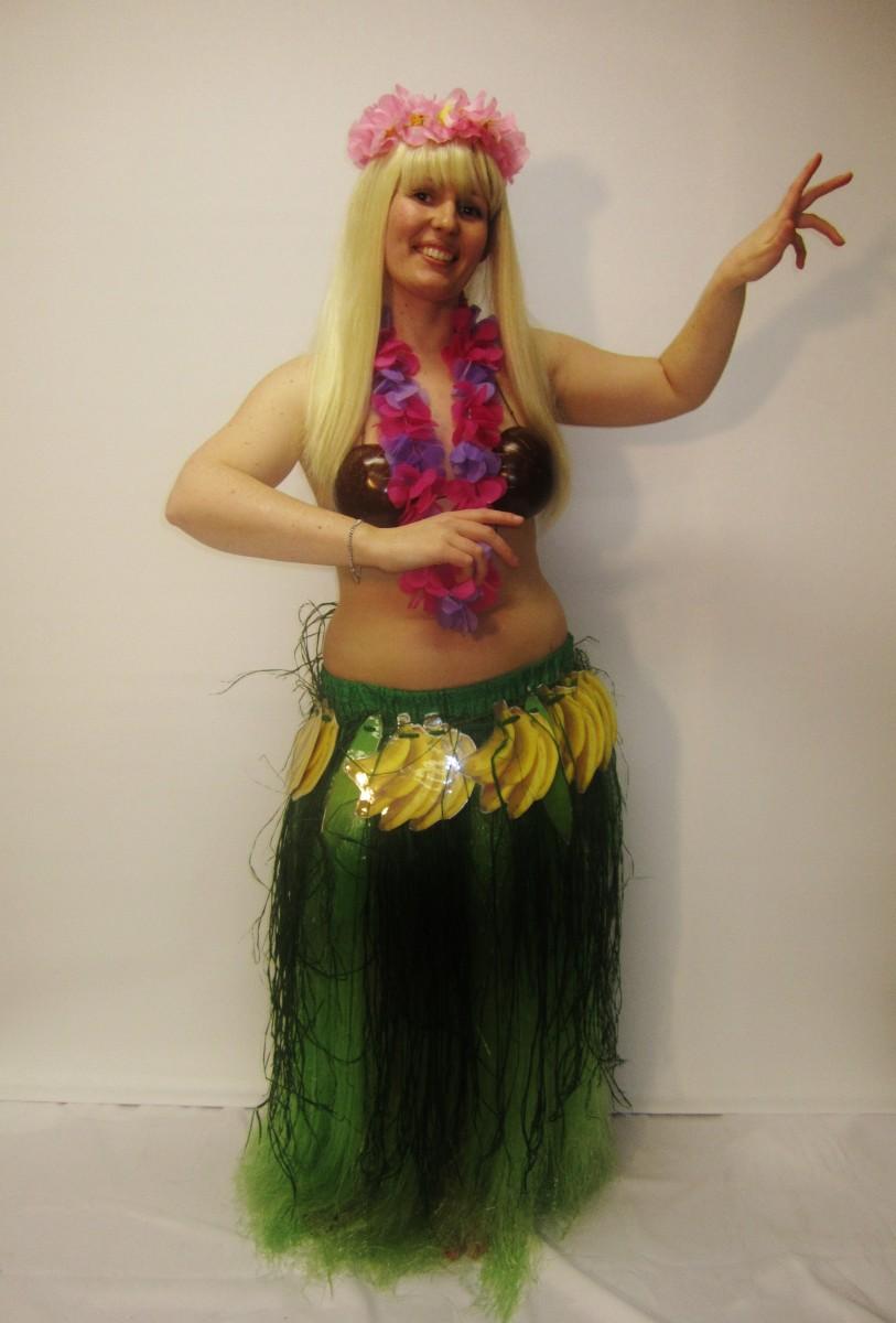 Hula Girl Costume - Creative Costumes