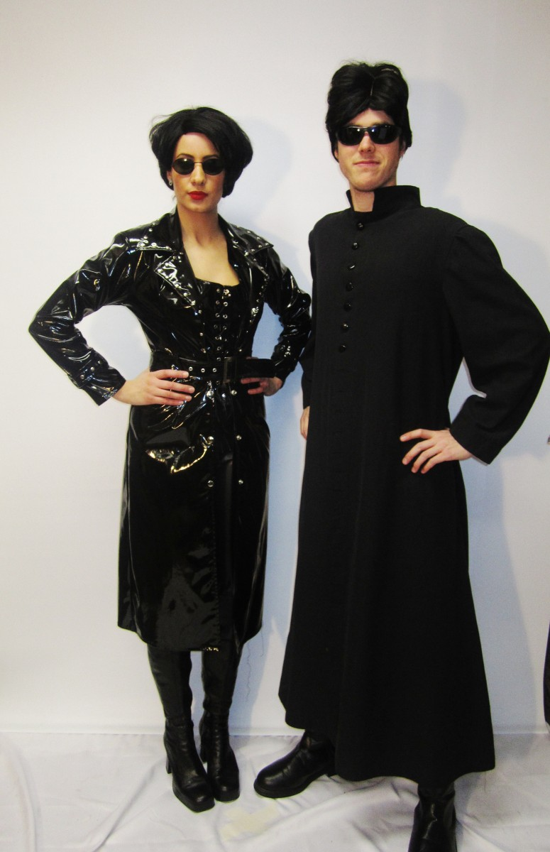 Matrix Couple  sc 1 st  Creative Costumes & Matrix Couple Costume -Creative Costumes