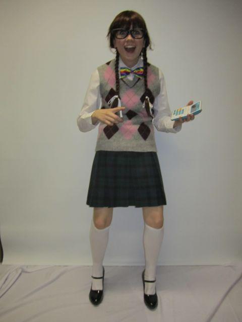 Geek Girl Costume -Creative Costumes