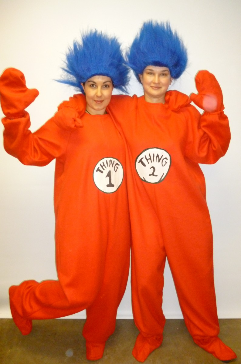 Thing 1 And Thing 2 Costumes For Women