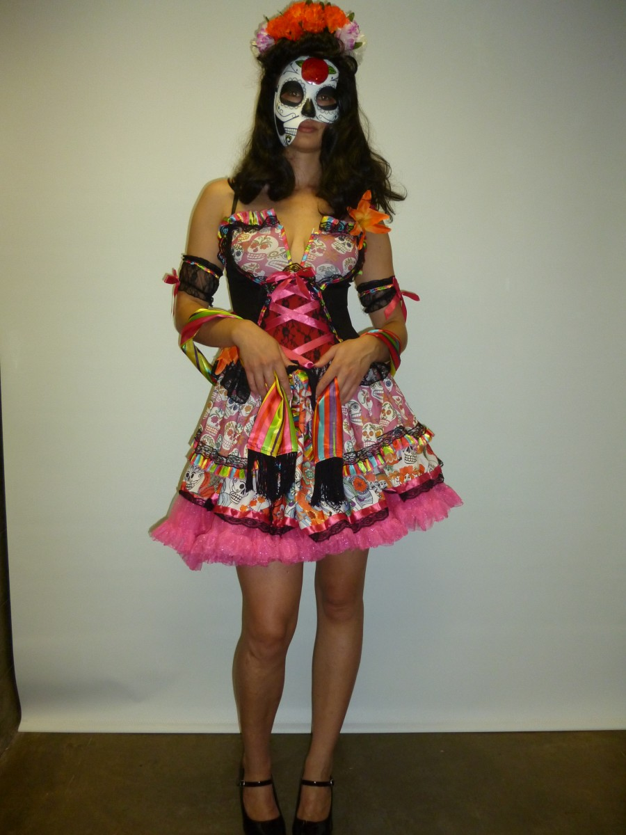 Day of the dead costume - Creative Costumes