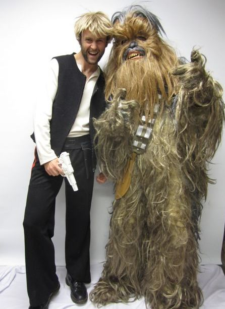 hans and chewwie  sc 1 st  Creative Costumes & Hans Solo and Chewbacca Costume -Creative Costumes