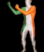 ireland morphsuit