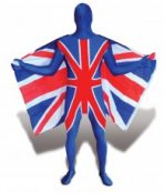 union jack morphsuit