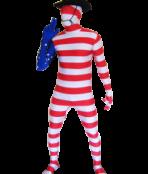 american morphsuit