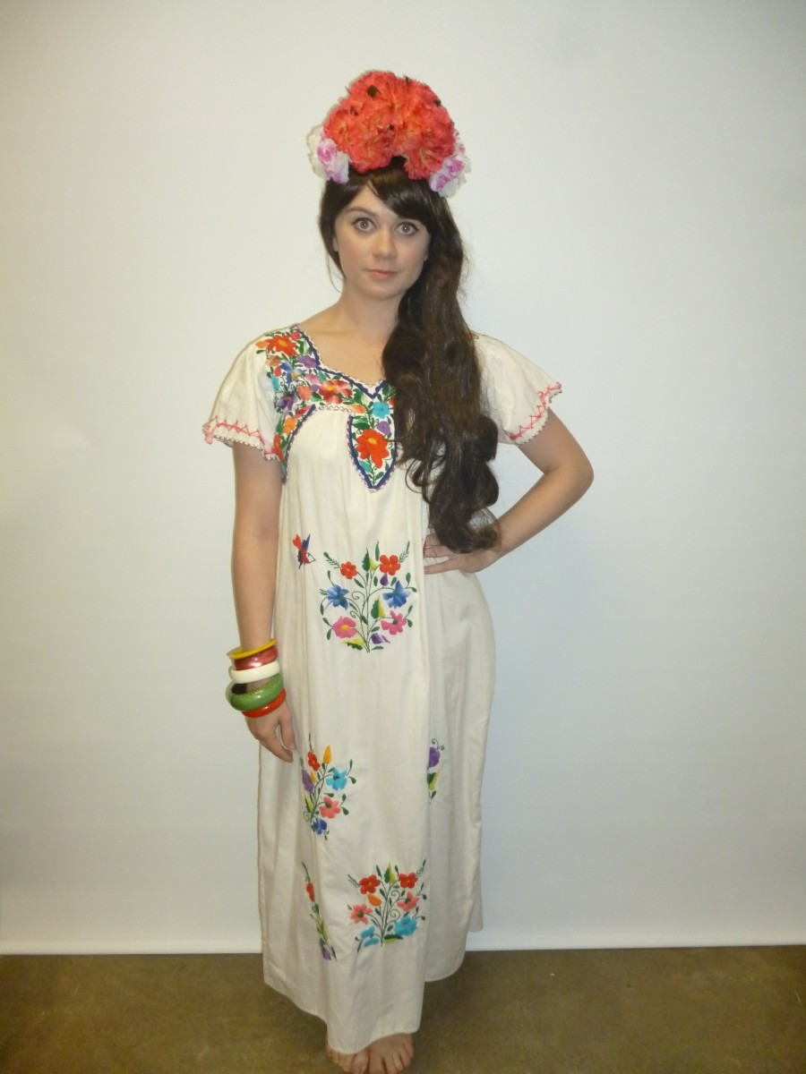 Mexican costume dress images