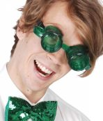 St Patrick Day glasses
