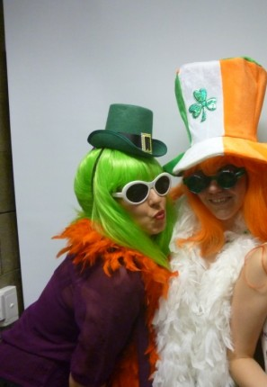 Related Costumes  sc 1 st  Creative Costumes & St Patrick Day Staff Gone wild -Creative Costumes