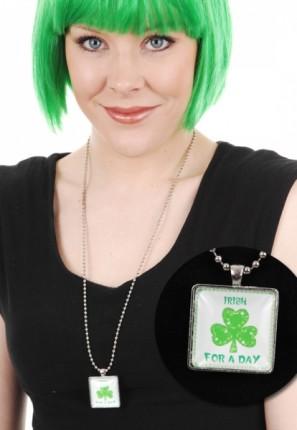 st Patrick day necklace