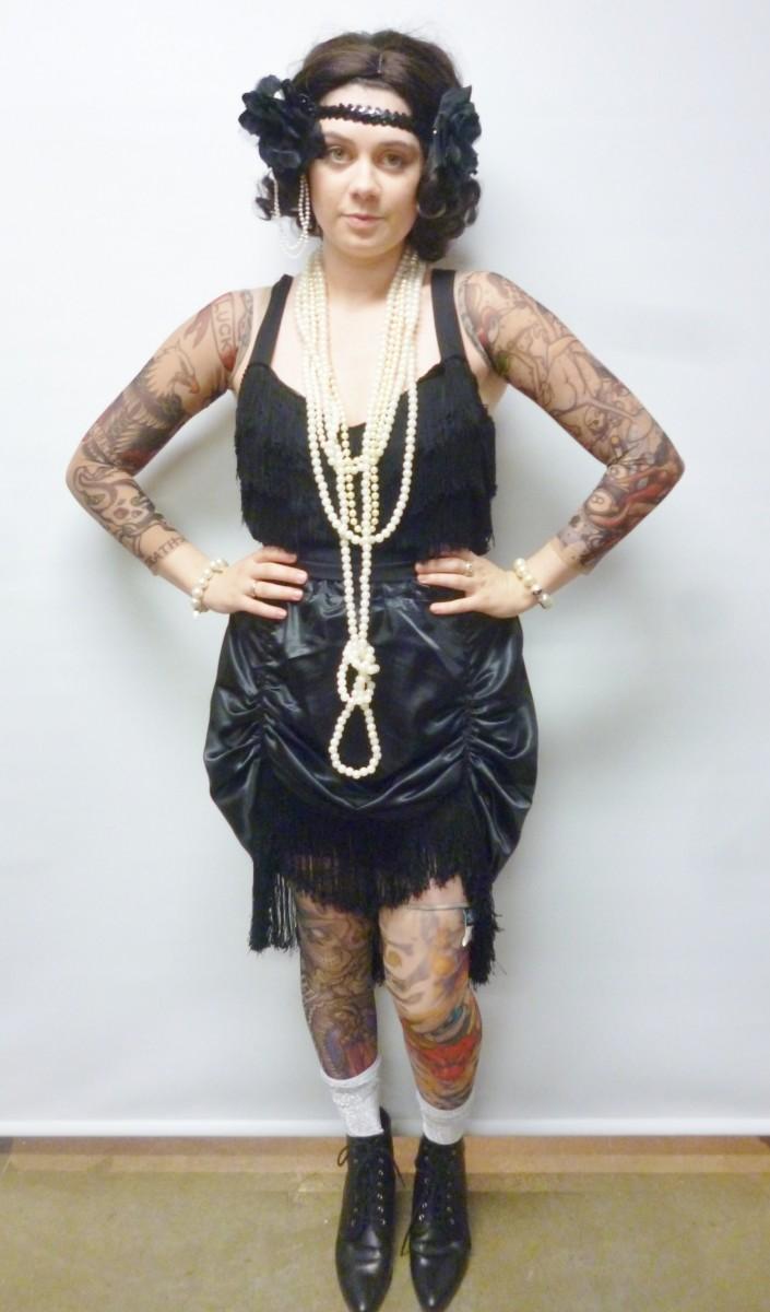 Tattooed lady costume creative costumes for Tattoo freak costume