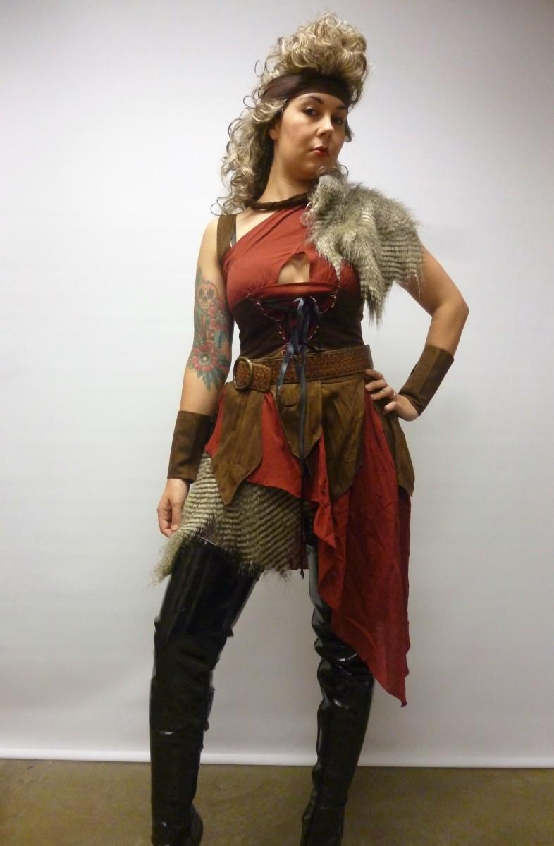 Warrior Woman Costume Creative Costumes