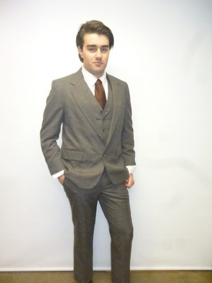 1920's 1930's daytime suit