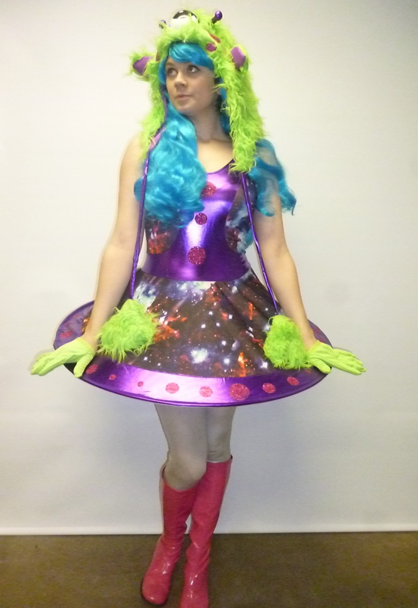 Alien Girl Costume -Creative Costumes