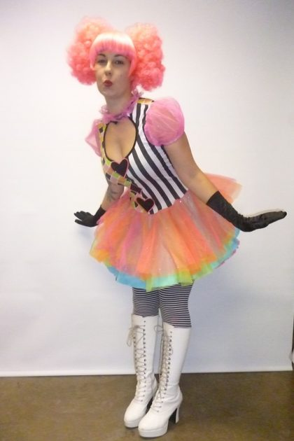 circus clown performer