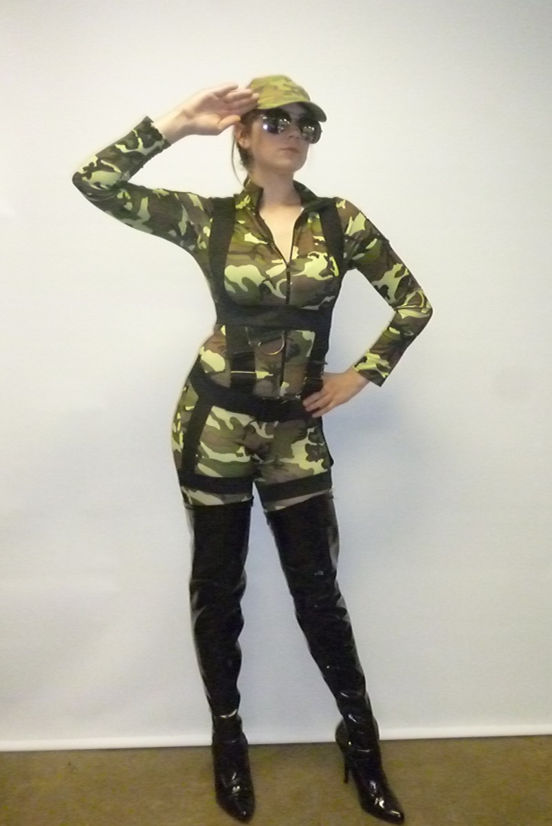 Army Girl Costume Creative Costumes