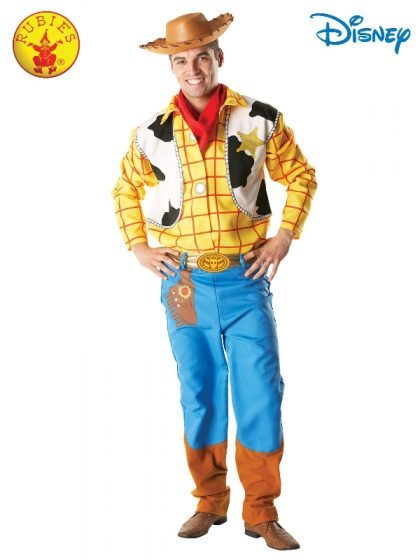 woody deluxe adult costume