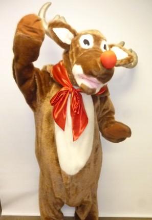 rudolph, christmas reindeer, Santa's helper