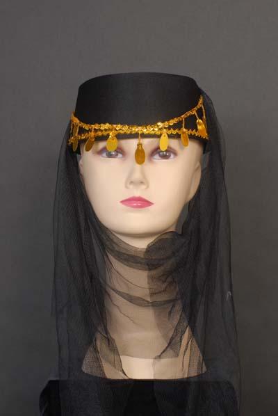 Harem Hat Black