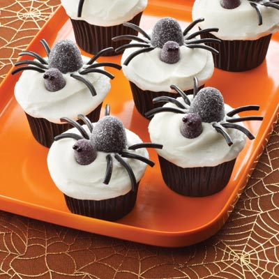 3 5 7 rule decorating cupcakes for halloween