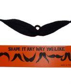 Balck moustache