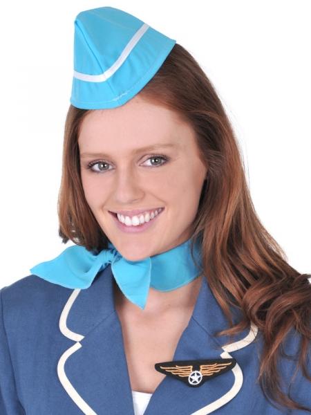 flight attendent hat