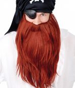 beard red long