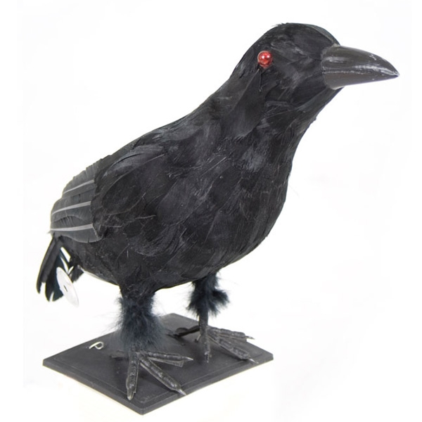 Crow Black Feather Light Up Creative Costumes