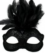 masquerade mask black