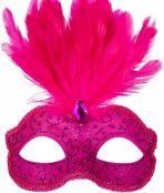 masquerade mask pink