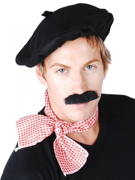 FRENCHMAN Beret Scarf Creative Costumes
