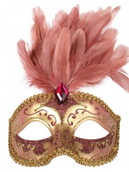 Masquerade pink mask