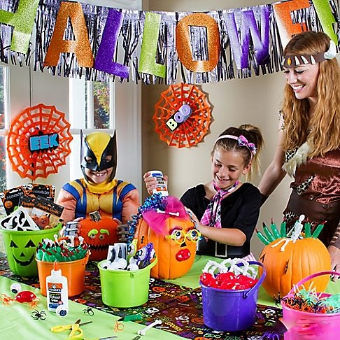 Costume party ideas themes costume hire - Kids halloween party decoration ideas ...