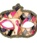 masquerade mask gold