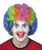 Curly clown wig