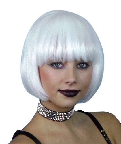 White wig female
