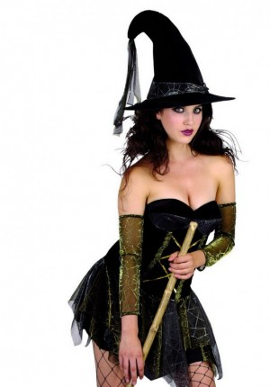 Sexy Witch Short Adult Creative Costumes
