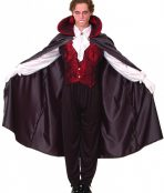 Deluxe vampire mens costume