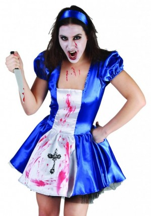 bloody alice costume girl