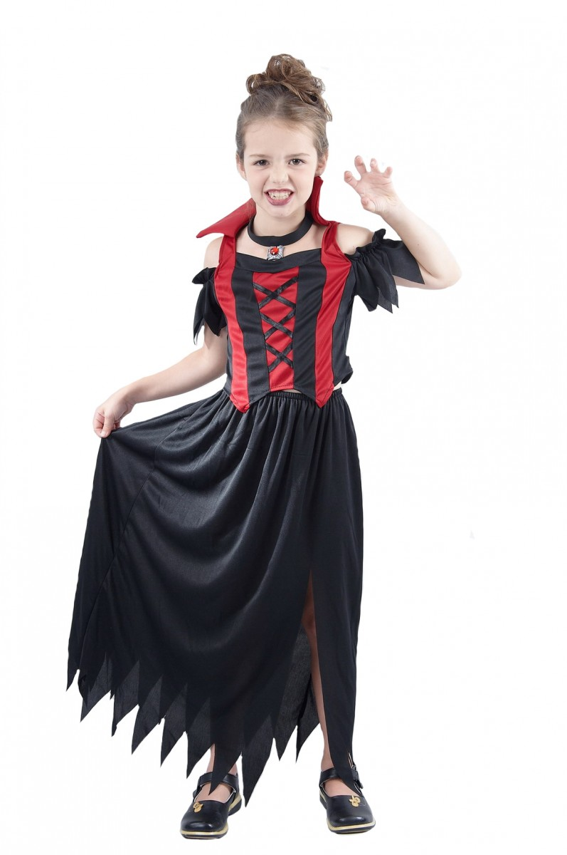 vampire girl child creative costumes. Black Bedroom Furniture Sets. Home Design Ideas