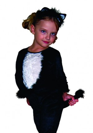 Balck cat chld costume